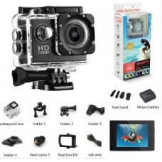 Action Kamera Sport - 1080P Full HD (HVID)