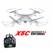 RC Quadcopter X5C X5C-1 Drone med kamera HD 2,4 GHz