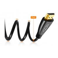 HDMI kabel videokabler forgyldt 1.4 1080P 3D-kabel 2M & 5M