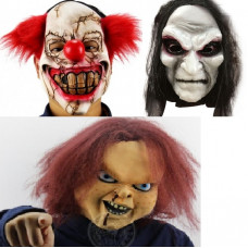 Masker Skræmmende Latex