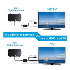 TV Antenne - Indendørs Digital HDTV M/ Forstærker