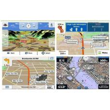 """GPS 4,3"""" med Hele Europa eller få Verdenskortet med."""