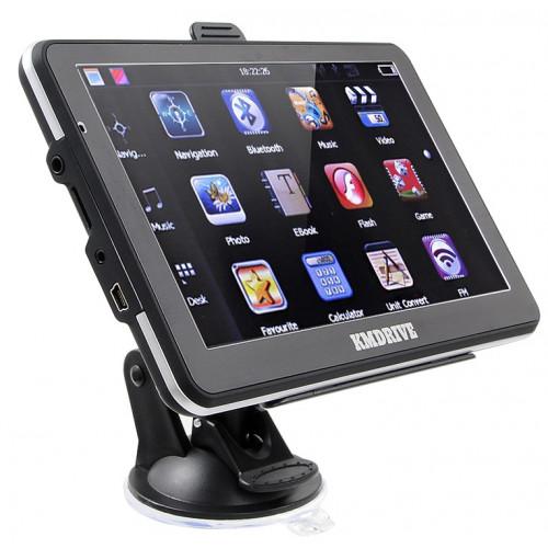 "GPS Navigation 7"" Bluetooth AV-IN-støtte Bagudkamera"