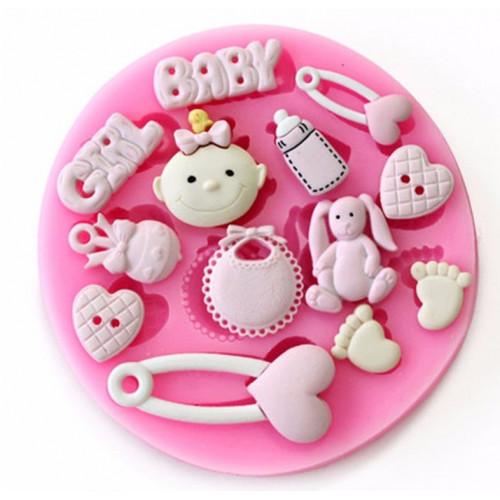 Dekoration til Baby kage