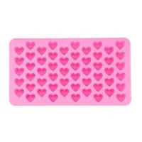 Dekoration i 3D Hjerter Til isterninger pynt til kager eller