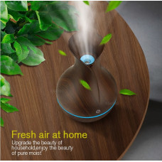 KBAYBO elektrisk luftfugter aroma olie ultralyd træ hjemme/kontor