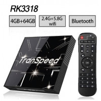 Android 9.0 TV BOX 3D 4K Youtube Netflix 4G 64G Google Voice