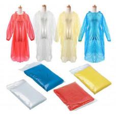 Mænd Kvinder Voksne engangs regnfrakke