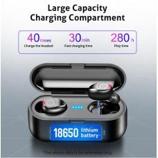 Trådløs vandtæt hovedtelefon Bluetooth 5.0 med 2000mah