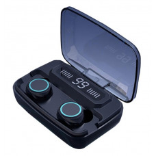 TWS Mini-hovedtelefon med LED Digital Display Touch IPX7 Vandtæt 3300Mah