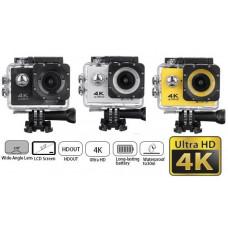 Action Kamera - Wifi 4K (Flere Farver)