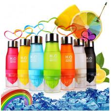 H2O Vandflaske med citruspresser