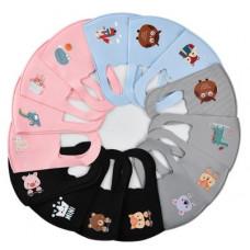 Ansigtsmaske til børn - vaskbar i 4 forskellige farver