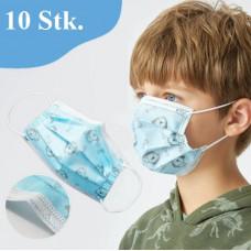 Mundbind til børn dreng/pige 10stk