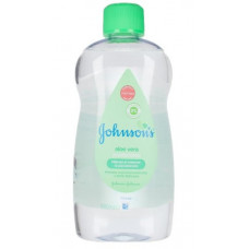 Johnsons Baby Oil Aloe Vera 500m