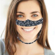 Behagelig næse-/mundmaske takket være blød filt og lav vægt
