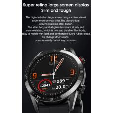 L13 Smartwatch - Fuld Touch Skærm - Puls / blodtryk / Termometer / Vandtæt / Bluetooth