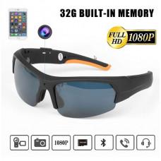Bluetooth-kamera solbriller M/32G