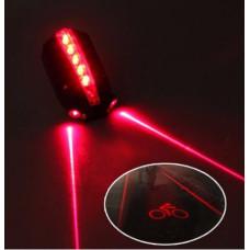 Cykel Laser Baglygte med sikkerhed