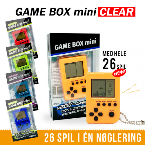 Gameboy Mini - Nøglering
