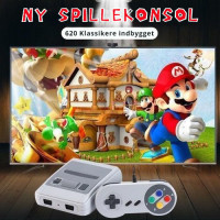 Snesh Spillekonsol (621 spil)
