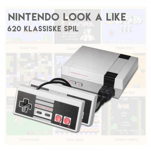 Nesh Spillekonsol (620 spil)