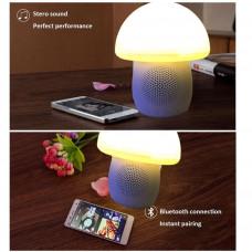 LED Svampe Lampe Højtaler
