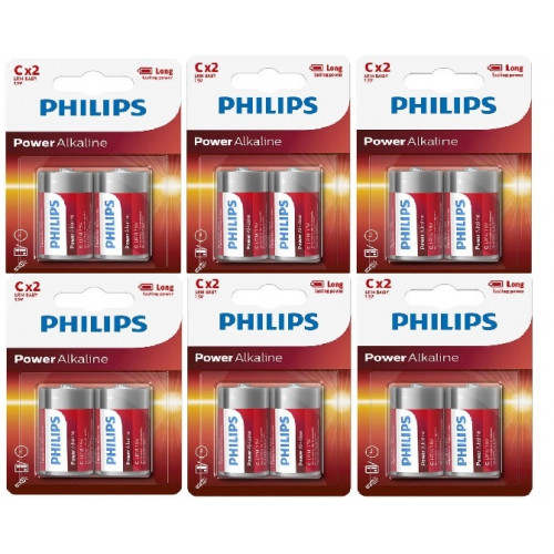 Philips 12 STK D-LR20 Mono