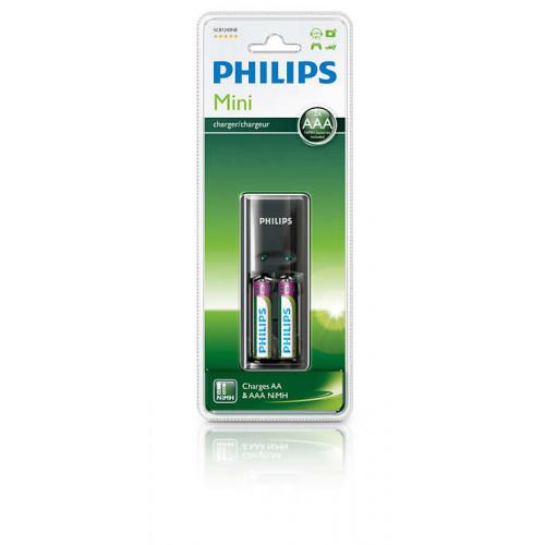 Philips Multilife batterioplader - 2 x AAA type - NiMH