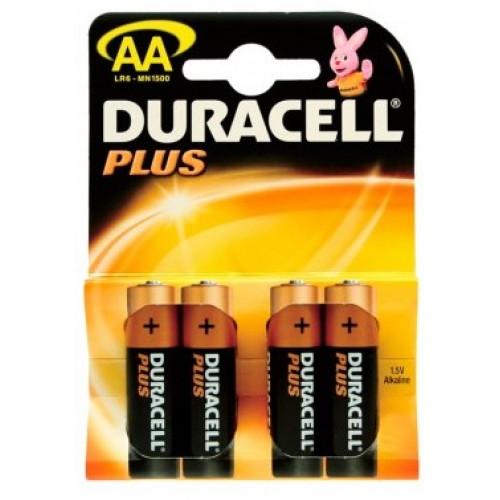 DURACELL AA / LR06 PLUS POWER (4 stk.) MN 1500