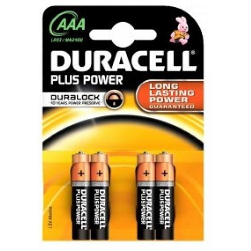 DURACELL AAA / MN2400 / LR03 PLUS POWER (4 stk.)