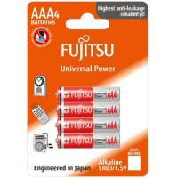 Fujitsu AAA / LR03 Universal Power - 4 stk batterier