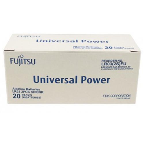 Fujitsu AAA / LR03 Universal Power - 40 stk batterier