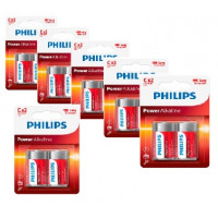 Philips Power Alkaline C Baby batterier 12 stk.