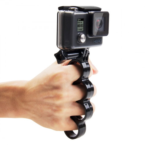 Hånd holder til GoPro m.fl.