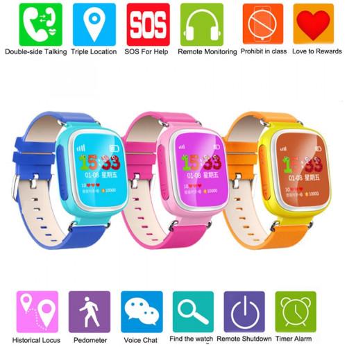Børne Smartwatch med GPS tracking
