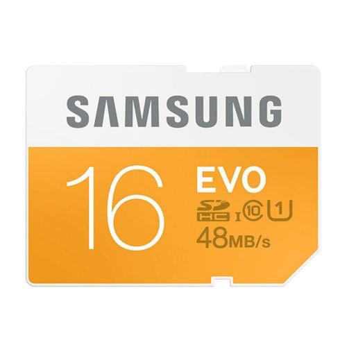 Samsung SD EVO+ 16GB Class 10 (Kamera Tilbehør)
