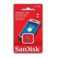 Sandisk 16GB Micro SD (Klasse 10)