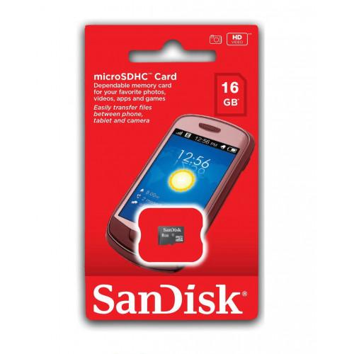 Sandisk 16GB Micro SD (Klasse 10) (Micro SD Kort)