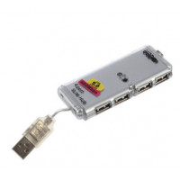 4 Port USB 2.0 HUB High Speed Laptop
