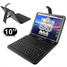 #1 Universal Tablet Cover med Tastatur